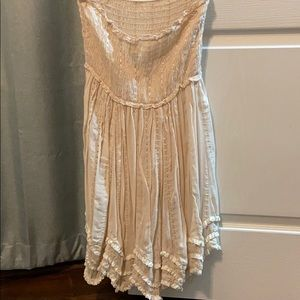 Strapless Free People Dress
